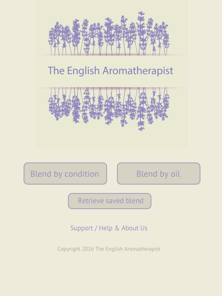 The English Aromatherapist Essential Oil Blending Tool for Aromatherapy