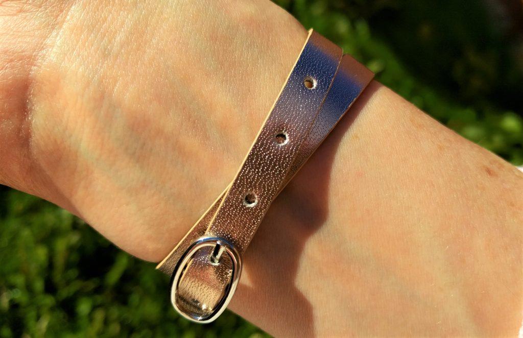Drops of Joy diffuser bracelet leather strap