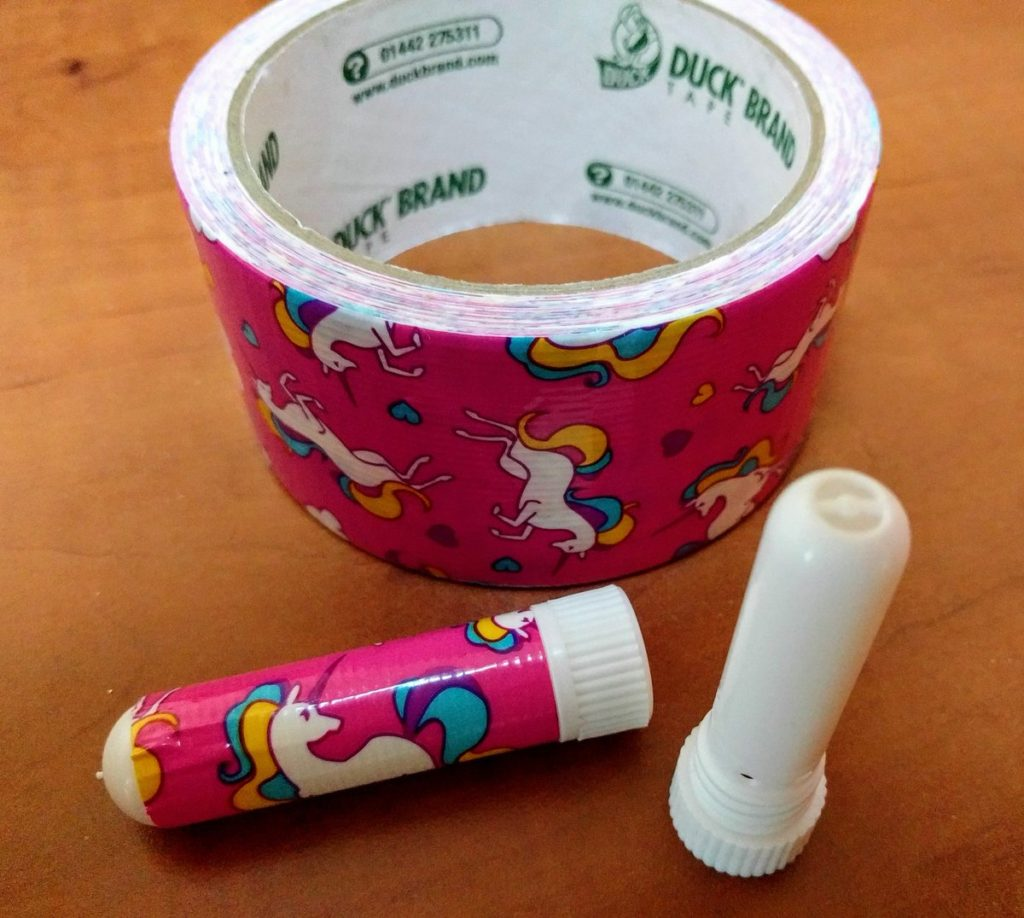 Make your own aromatherapy inhaler