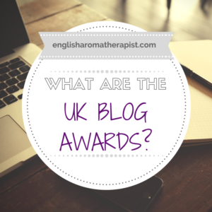 What are the UK Blog Awards 2017?