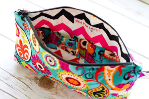 Paisley Essential Oil Storage Bag - Red Fox Lane