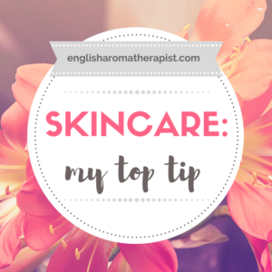 What is my top skin care tip?