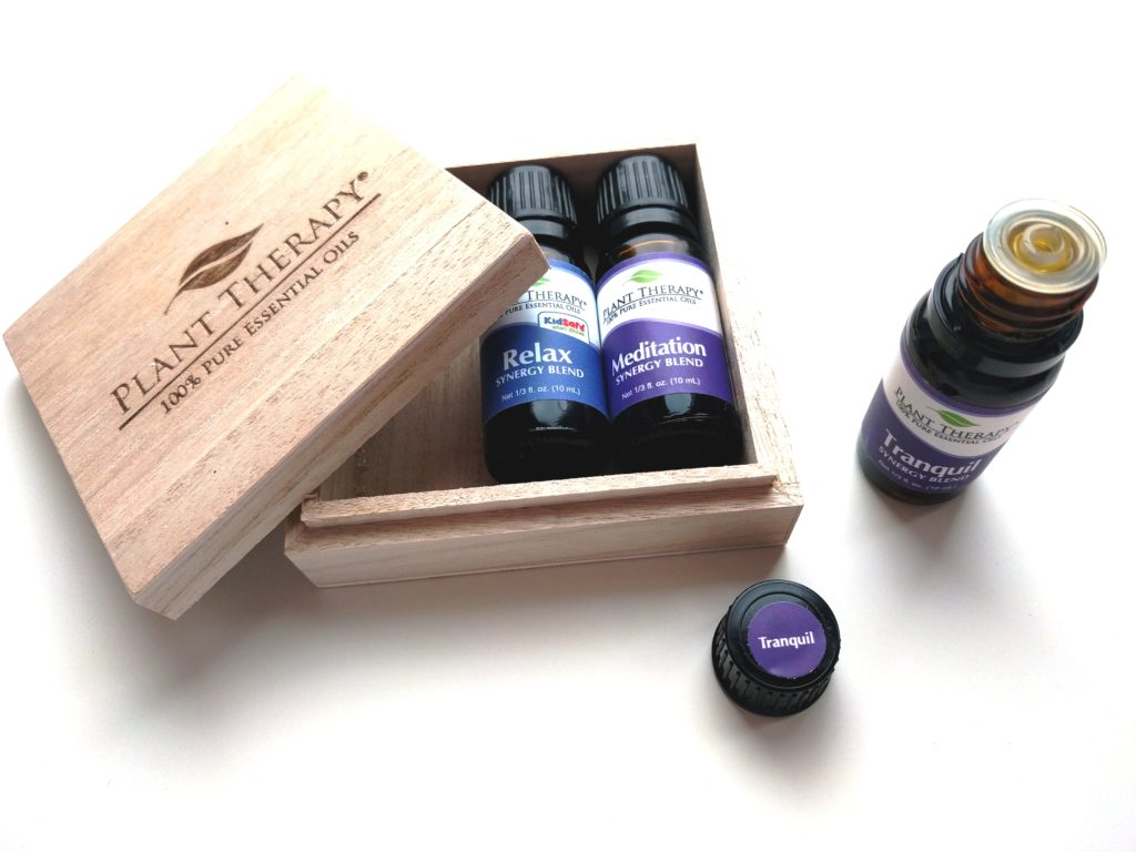 Plant Therapy Relaxation Synergy Set