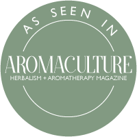 As seen in Aroma Culture magazine - The English Aromatherapist