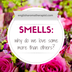 Why do we love some smells more than others?