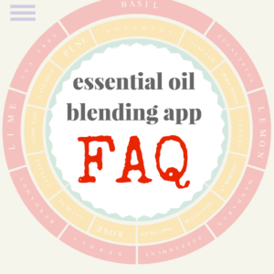 Essential Oil Blending Tool FAQ