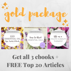 Gold Package - The English Aromatherapist