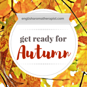 Get ready for autumn with essential oils