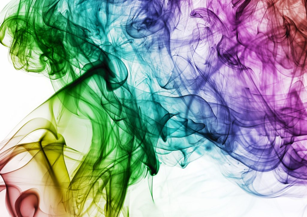 Colour smoke
