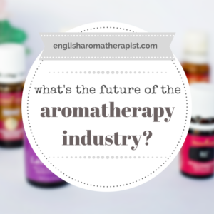 What's the future for the aromatherapy industry?