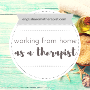 Working as a therapist from home