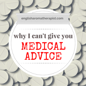 Why I can't give you medical advice