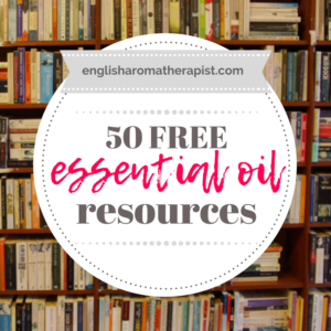 50 free essential oil resources