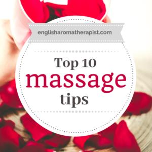 Top 10 Massage Tips