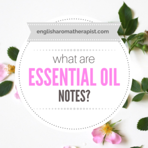 Essential Oil Notes - Top, Middle, Base