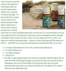 Gary Young Eye Drops Recipe