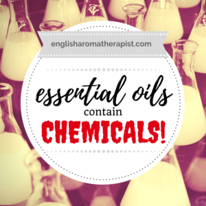 Essential oils contain chemicals