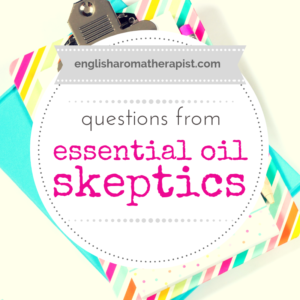 Essential oil skeptics
