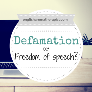 Defamation or Freedom of Speech?