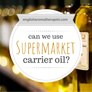 Supermarket carrier oil