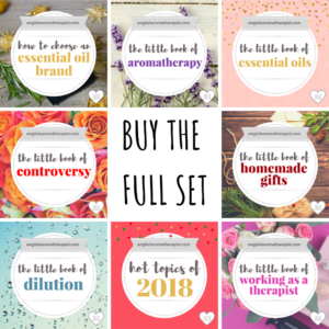 2019 Full Set English Aromatherapist Books