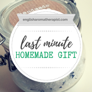 Easy last minute homemade gift idea