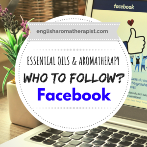 Top 20 facebook accounts for essential oils aromatherapy