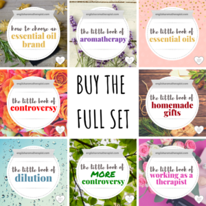 NEW 2019 Full Set English Aromatherapist Books